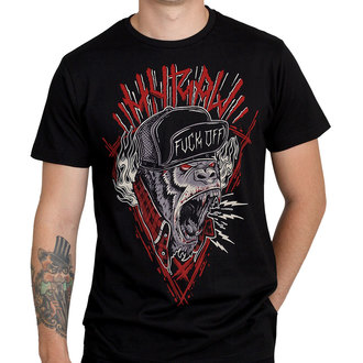 Hardcore moška kratka majica - HARDCORE MONKEY - HYRAW, HYRAW