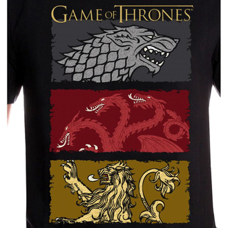 Moška filmska majica Game of thrones - THE HOUSES OF THE KING - LEGEND, LEGEND, Igra prestolov
