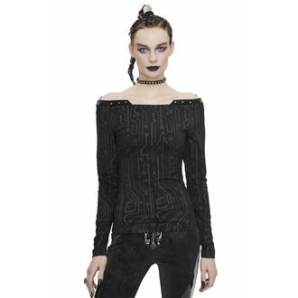 Ženska majica z dolgimi rokavi DEVIL FASHION, DEVIL FASHION
