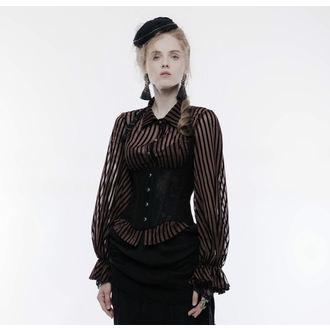 Ženski steznik PUNK RAVE - Temptress black, PUNK RAVE