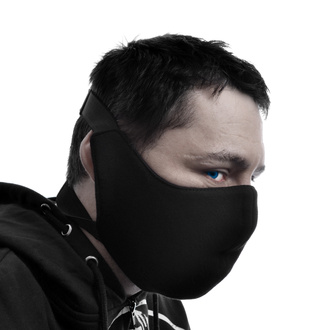 Obrazna maska POIZEN INDUSTRIES - ČRNA, POIZEN INDUSTRIES