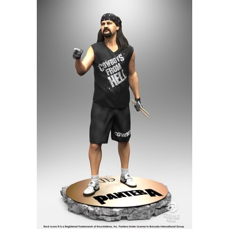 Figura Pantera - Rock Iconz Statue - Vinnie Paul, KNUCKLEBONZ, Pantera