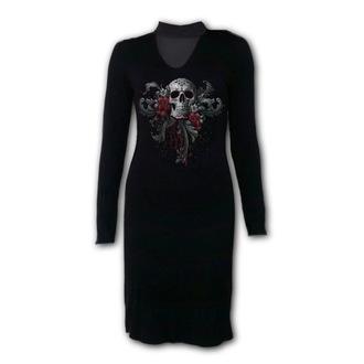 Ženska obleka SPIRAL - SKULL ROSES, SPIRAL