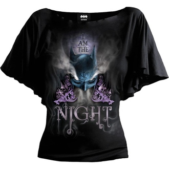 Ženska majica SPIRAL - Batman Top - AND AM THE NIGHT - Črna, SPIRAL, Batman