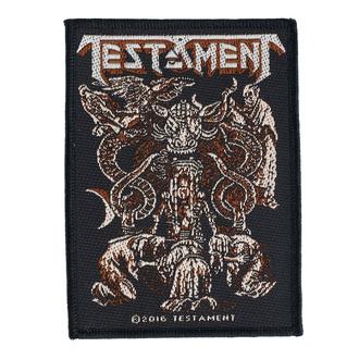Našitek Testament - Demonarchy - RAZAMATAZ, RAZAMATAZ, Testament