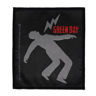 Našitek Green Day - Lightning Bolt - RAZAMATAZ, RAZAMATAZ, Green Day