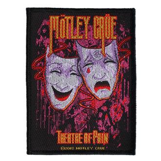 Našitek Mötley Crüe - Theatre Of Pain - RAZAMATAZ, RAZAMATAZ, Mötley Crüe