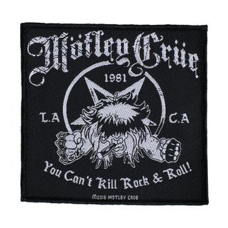 Našitek Mötley Crüe - You Can't Kill Rock N Roll - RAZAMATAZ, RAZAMATAZ, Mötley Crüe