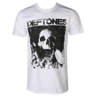 Moška Majica  DEFTONES - SKULL - Bela - PLASTIC HEAD, PLASTIC HEAD, Deftones
