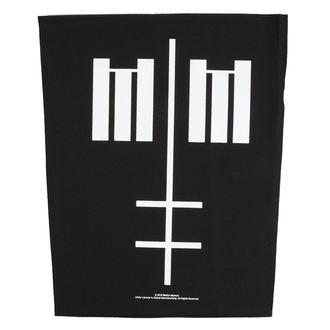 Veliki našitek Marilyn Manson - Cross Logo - RAZAMATAZ, RAZAMATAZ, Marilyn Manson