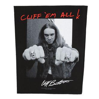 Veliki našitek Metallica - Cliff Em Aill - RAZAMATAZ, RAZAMATAZ, Metallica