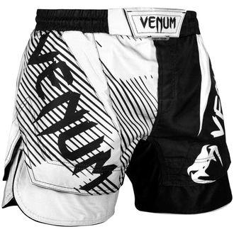 Boksarske moške kratke hlače (fightshorts) VENUM - NoGi 2,0 - Črno / Bela, VENUM