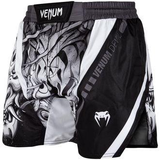 Boksarske moške kratke hlače (fightshorts) VENUM - Devil - Bela / Črna, VENUM