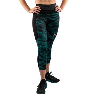 Ženske hlače (legice) VENUM - Defender - Črna / Zelena, VENUM