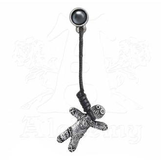 Uhani ALCHEMY GOTHIC - Voodoo Doll, ALCHEMY GOTHIC