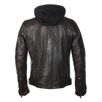 Moška jakna G2BLews SF LARETV - črna / rjava, NNM