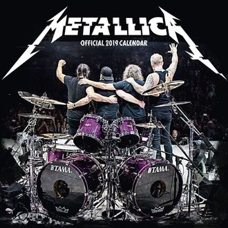 Koledar za leto 2019 - METALLICA, Metallica
