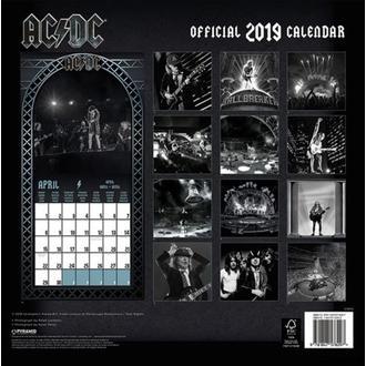 Koledar za leto 2019 AC / DC, NNM, AC-DC
