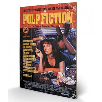 Lesena slika Pulp Fiction - (Cover) - PYRAMID POSTERS, PYRAMID POSTERS, Pulp Fiction