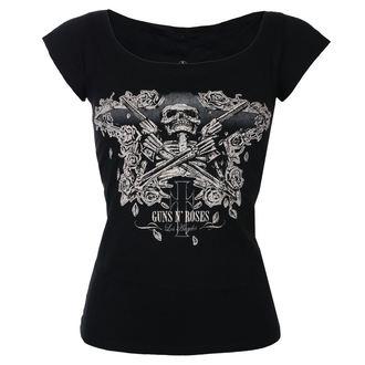 Ženska metal majica Guns N' Roses - Skeleton - ROCK OFF, ROCK OFF, Guns N' Roses