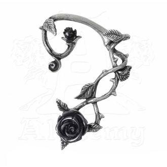 Uhani ALCHEMY GOTHIC - Black Rose Earwrap, ALCHEMY GOTHIC