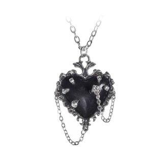 Ogrlica z obeskom ALCHEMY GOTHIC - Witches Heart, ALCHEMY GOTHIC