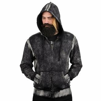 Moški hoodie WORNSTAR - Essentials - Distress Edge Wash, WORNSTAR