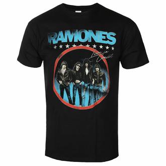 Moška majica Ramones - Circle Photo - Črna - ROCK OFF, ROCK OFF, Ramones