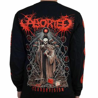Moška majica z dolgimi rokavi Aborted - Terror vision - Črna - INDIEMERCH, INDIEMERCH, Aborted