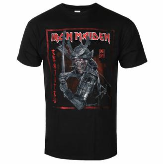 Moška majica Iron Maiden - Senjutsu Cover Distressed - Red BL - ROCK OFF - IMTEE132MB