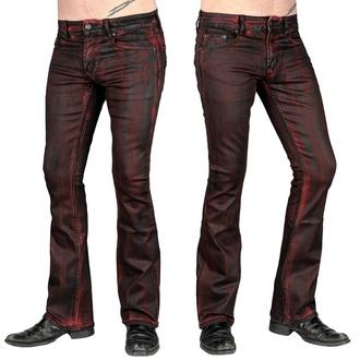 Moške hlače (kavbojke) WORNSTAR - Hellraiser Crimson Coated, WORNSTAR