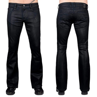 Moške hlače (kavbojke) WORNSTAR - Hellraiser Coated - Oglje, WORNSTAR