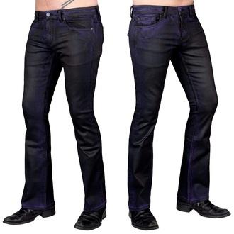 Moške hlače (kavbojke) WORNSTAR - Hellraiser Coated - Purple Haze, WORNSTAR