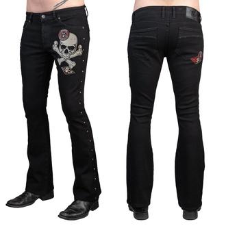 Moške hlače (kavbojke) WORNSTAR - Vanguard - Črna, WORNSTAR
