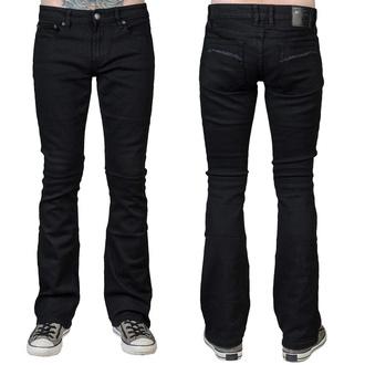 Moške hlače (kavbojke) WORNSTAR - Hellraiser - Črna, WORNSTAR