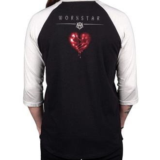 Moška majica s 3/4 rokavi WORNSTAR - Suicide King, WORNSTAR