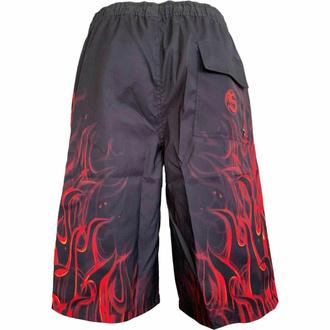 Moške kratke hlače (kopalke) SPIRAL - SKULL BLAST - Črna, SPIRAL