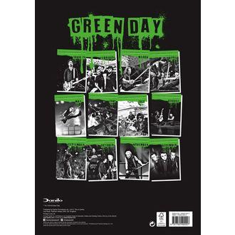 Koledar za leto 2019 AC / DC - GREEN DAY, Green Day