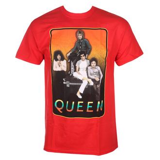 Moška metal majica Queen - RED FRAME - BRAVADO, BRAVADO, Queen
