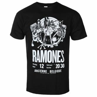 Moška majica Ramones - Belgium - ROCK OFF, ROCK OFF, Ramones