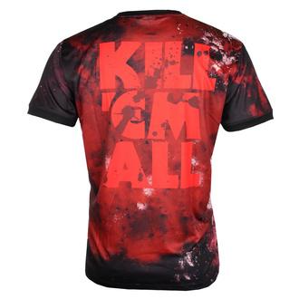 Moška majica (tehnična) METALLICA - KILL EM ALL - ČRNA - AMPLIFIED, AMPLIFIED, Metallica