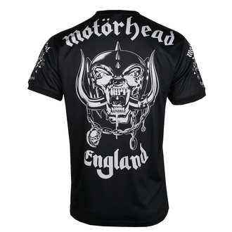 Moška majica (tehnična) Motörhead - LEATHER VEST - ČRNA - AMPLIFIED, AMPLIFIED, Motörhead
