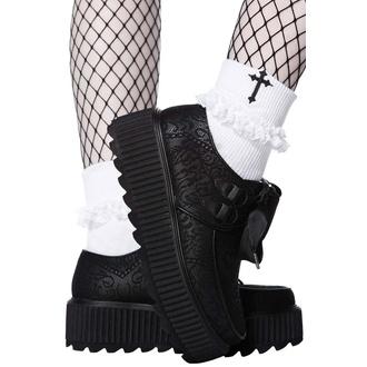 Ženski čevlji KILLSTAR - Lacy Bones, KILLSTAR