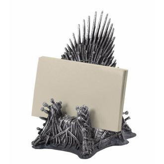 Dekorativno držalo za vizitke Game of Thrones - Iron Throne, NNM, Igra prestolov