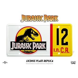 Registrska tablica Jurassic Park - Replica 1/1 Dennis Nedry tablica, NNM, Jurski park