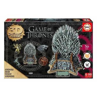 Puzzle Game of Thrones (&&string1&&) - 3D Monument - Iron Throne, NNM, Igra prestolov