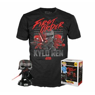 Set (figura + majica) Star Wars - Epizoda IX - POP! - Kylo Rhine (Supreme Leader), POP, Star Wars