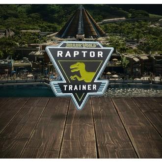 Značka Jurassic World - Raptor, NNM, Jurassic World