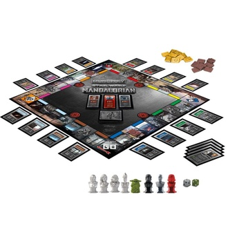 Družabna namizna igra STAR WARS - Monopoly The Mandalorian *English Version*, NNM, Star Wars