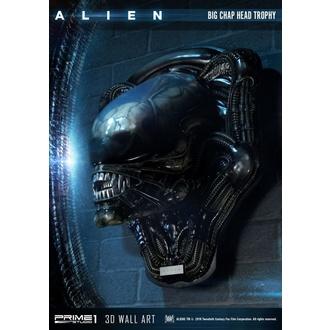 Stenska dekoracija Alien - 3D Wall Art Big Chap Head Trophy, NNM, Osmi potnik